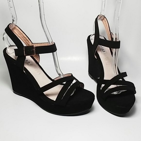 Kayleen by Los Angeles Shoes | Black